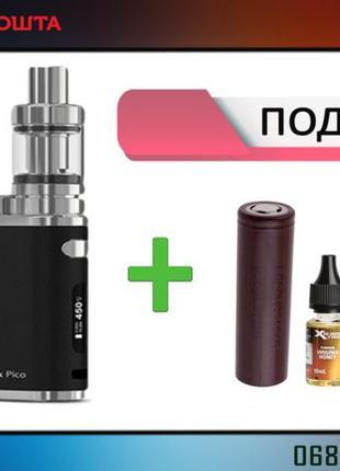 Электронная сигарета вейп Eleaf iStick Pico 75w + 4 подарка! Т...