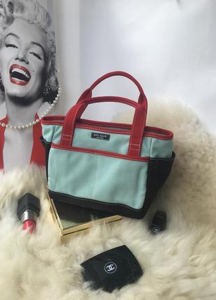 Kate spade, оригинал! милашная яркая сумка сумочка на лето мор...