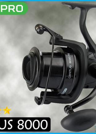 New ! Катушка Карповая Carp Pro Cratus 8000 FS с бейтраннером