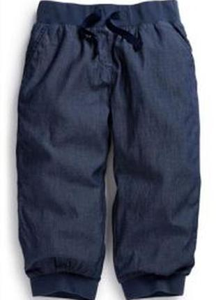 Next джинсовые бриджи 8 лет