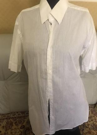 Брендовая рубашка slim fit