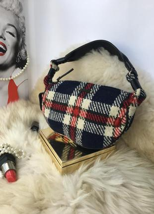 Kate spade,оригинал!стильная кожаная текстильная сумка, сумочк...