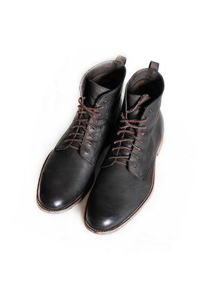 Мужские кожаные ботинки hugo boss оригинал