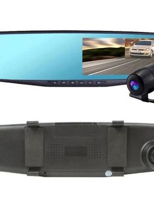 Видеорегистратор Зеркало с камерой заднего вида Vehicle BlackB...