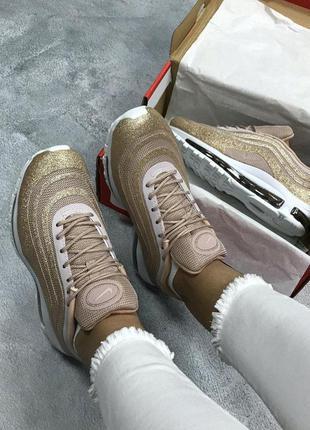 Nike air max 97 женские кроссовки найк с рефлективом (весна-ле...