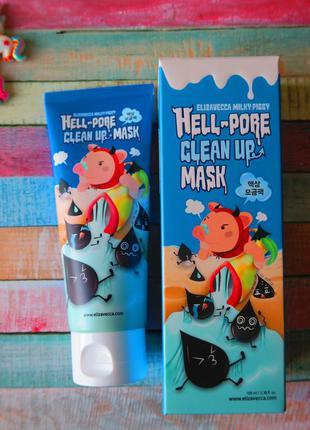 Маска очищающая поры, 100 мл, elizavecca milky piggy hell pore...