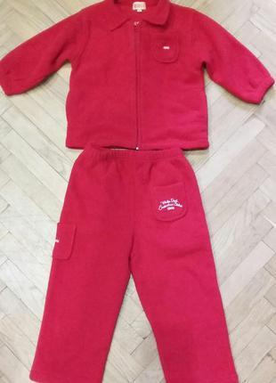 Детский спортивный теплый костюм