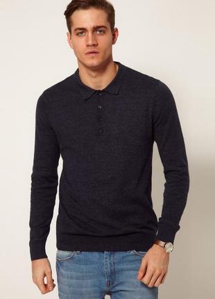 Оригинал dkny, мужской свитер джемпер, тонкая натуральная шерсть