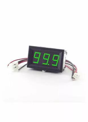Цифровой амперметр постоянного тока Izmeritel 100А
