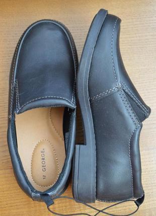 Туфли мокасины george, размер 30