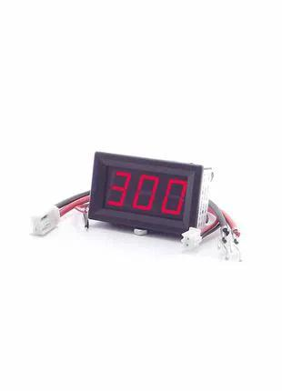 Цифровой амперметр постоянного тока Izmeritel 300A