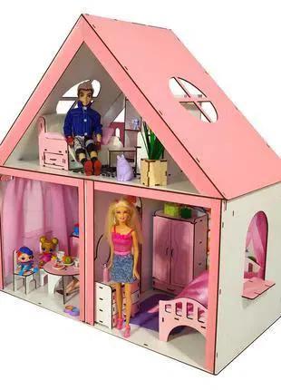 Кукольный домик ОСОБНЯК БАРБИ + мебель в  ПОДАРОК