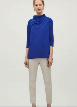 Cos блуза цвета электрик размер s