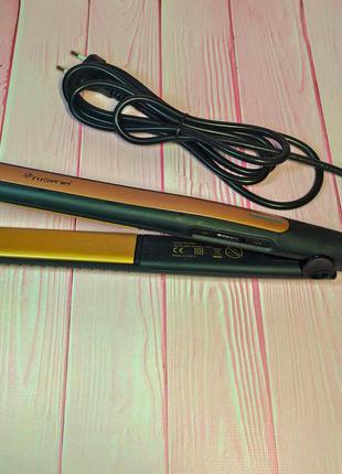 Утюжок для волос gemei 2955 – профессиональный выпрямитель с к...