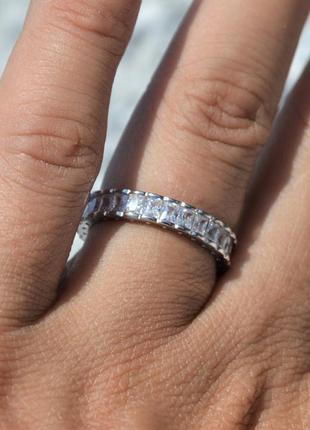 ⭐ кольцо серебрянное с камнем серебро 925 пробы