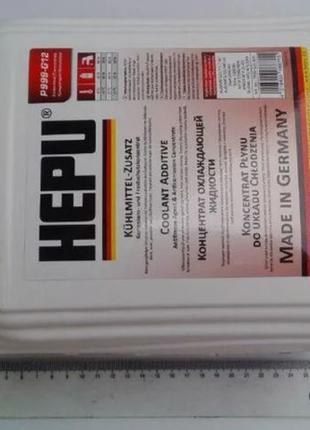 Антифриз HEPU концентрат (красный) 5 л. (P999-G12-005)