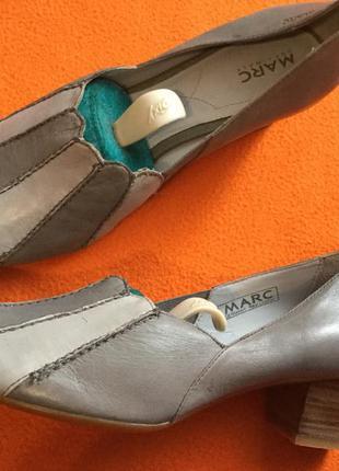 Новые кожаные туфли на 36,5-37