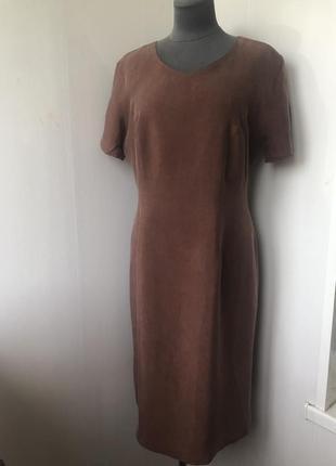 Силуэтное классическое платье, люкс ткань купро, натуральная т...