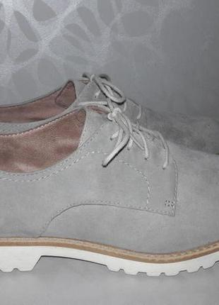 Tamaris - німецькі шкіряні туфлі, кросівки, лофери, броги, кеди