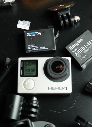 GoPro 4 + пак аксессуаров