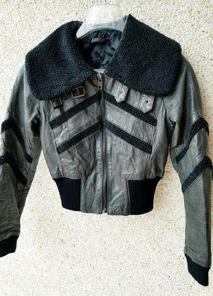 Кожаная куртка,косуха,бомбер