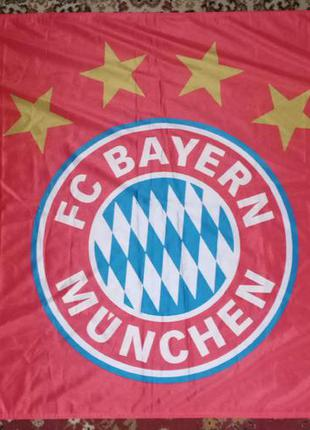 Футбольный флаг fc bayern munchen