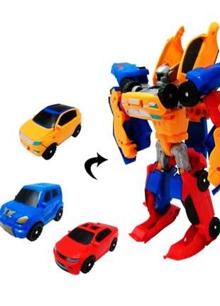 """Игрушка робот-трансформер  """"TOBOT TRITAN"""""""