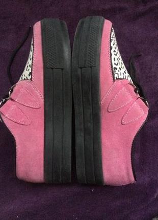 Ботинки розовые 39