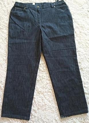 Классические темные джинсы большого размера 22 англ. наш 56-58.