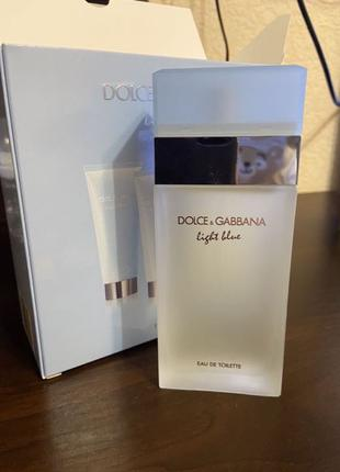 Духи Dolce Gabbana Light blue