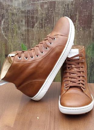 Кожаные кроссовки ботинки birkenstock bartlett 43 р. оригинал