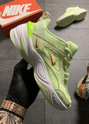 Nike m2k tekno light green .