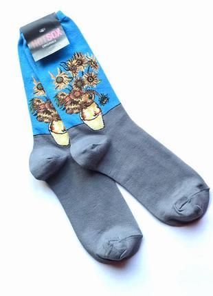 Стильные, актуальные, модные, высокие женские носки hot sox, в...