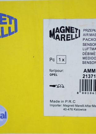 Расходомер воздуха MAGNETTI MARELLI 213719629019
