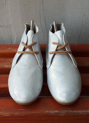 Кожаные ботинки ботильоны кроссовки bronx 37 р. оригинал