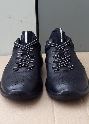 Кожаные кроссовки ecco soft 5 оригинал 39 р.