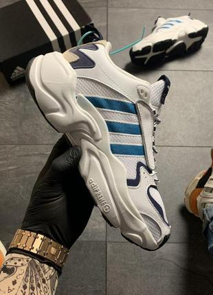 Adidas magmur runner white blue