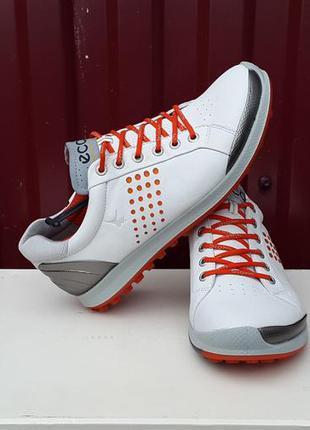 Кожаные кроссовки ботинки ecco biom hybrid 2 оригинал 39 р.