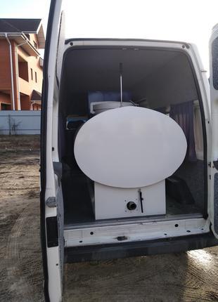 Цистерна для транспортировки молока с охладителем
