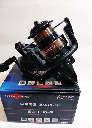 Фидерная рыболовная катушка MIFINE MARS 5000F 4+1bb