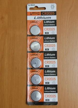 Батарейка таблетка CR2025 Lithium battery 3V