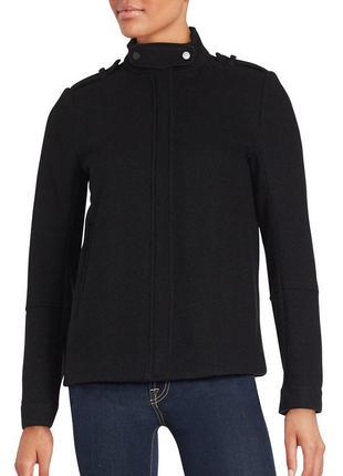 Новое укороченное шерстяное пальто, полу пальто vince