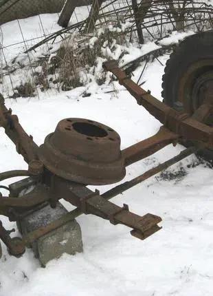 ГАЗ 53 передняя балка (в сборе)