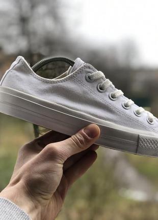Converse all star chuck taylor білі кеди оригінал
