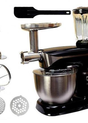 Кухонный комбайн Rainberg RB 8080 3в1 2200 w тестомес мясорубк...