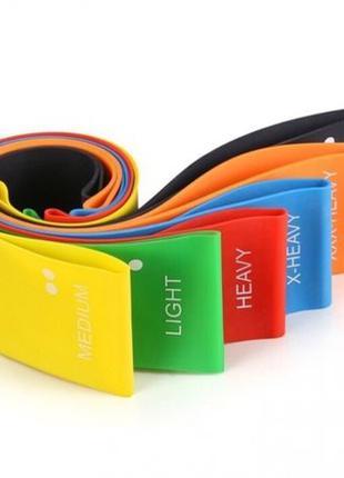 Резинка Лента для фитнеса спорта Эспандер резиновый резинки 3 шт