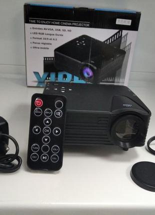 Мультимедийный Led мини проектор H80 домашний кинотеатр для дома