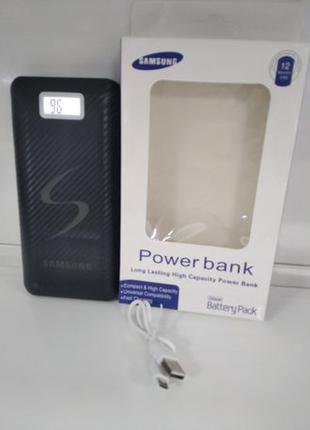 Power Bank Samsung 30000 mAh с дисплеем 2 USB повер банк аккум...