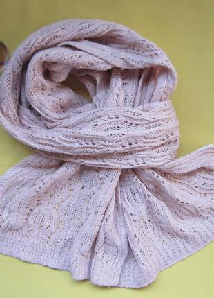 Нежный красивый,тёплый фирменный шарф