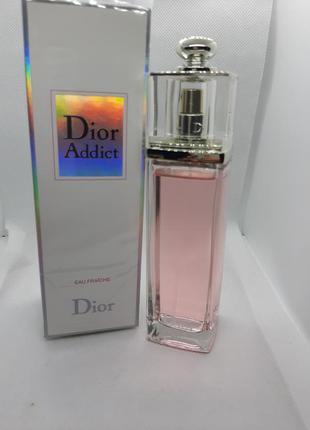 🌺оригинал 🌺100 мл dior addict eau fraiche цветочный нежный